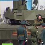 Lefulladt a főpróbán Putyin csodatankja