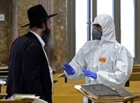 75 ezren fertőződhettek meg egy izraeli városban