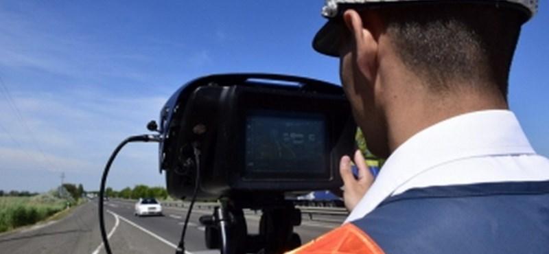 Még a rendőrök is megdöbbentek, annyi gyorshajtót fogtak Óbudán