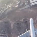 Rémisztően közel repült egy drón egy leszállóban lévő repülőgéphez – videó