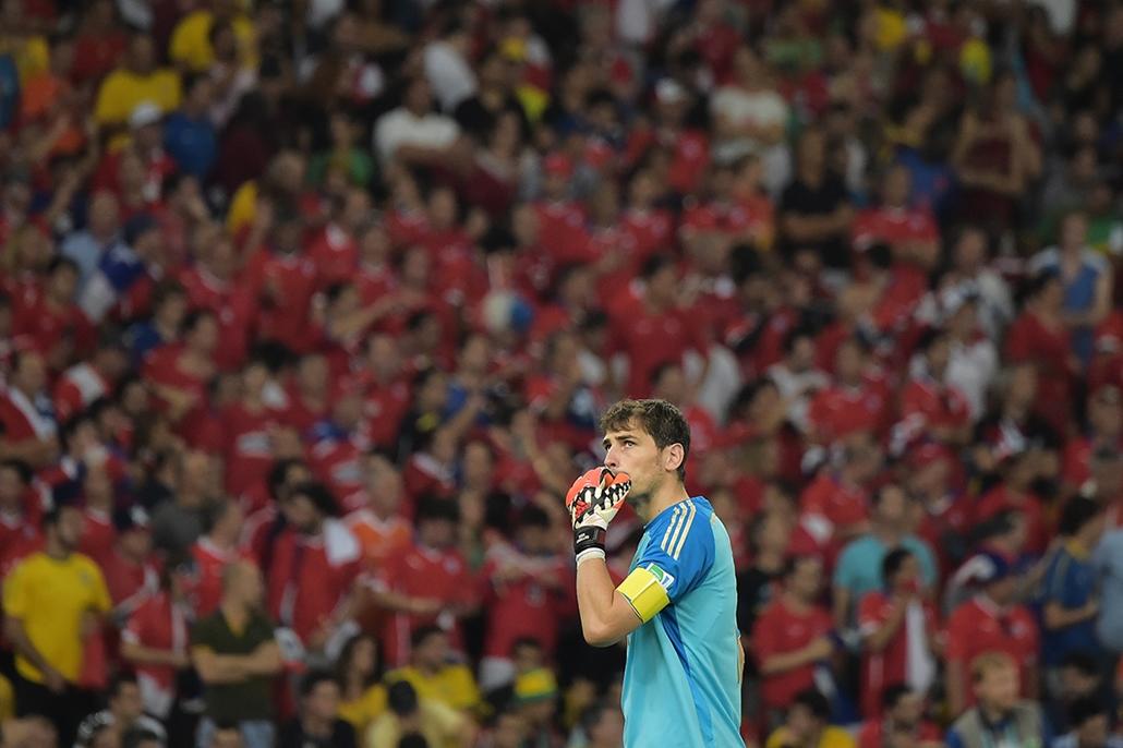 afp. foci-vb 2014, Iker Casillas 2014.06.18.