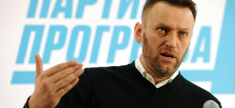 Lehet, hogy mégis ringbe szállhat Putyin ellen Navalnij?