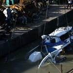 Négy holttestet hoztak már ki a Hableányból
