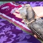 Lángra kapott egy 11 éves kislány iPhone-ja