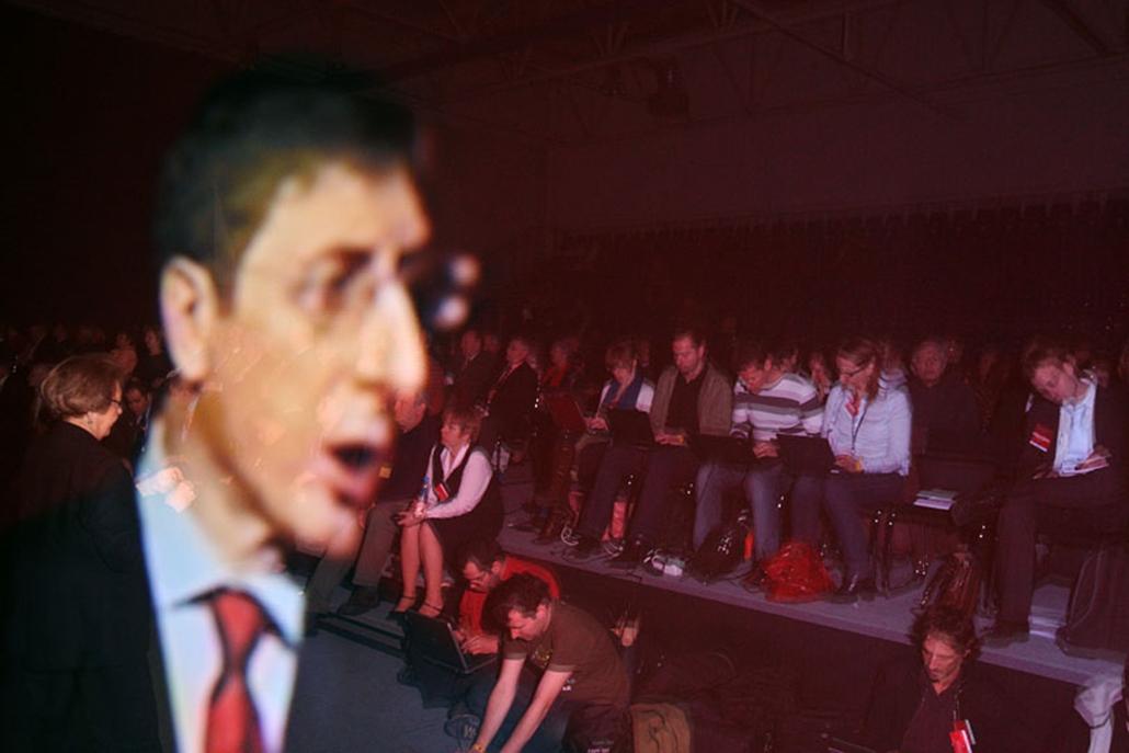 Gyurcsány Ferenc bejelentette a lemondását az MSZP kongresszusán.