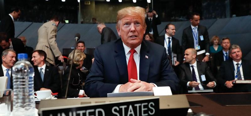 Trump ráduplázna: nagyon megemeltetné a NATO-tagok védelmi kiadásait