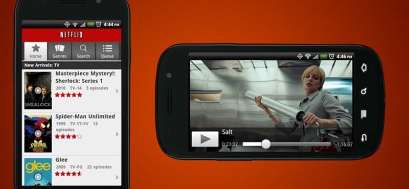 Kaptak egy remek funkciót az androidos netflixezők, az iPhone-osok ezt hiába is várják