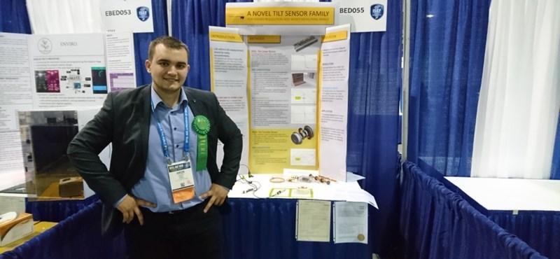 Tarolt egy magyar egyetemista a világ legnagyobb ifjúsági innovációs versenyén