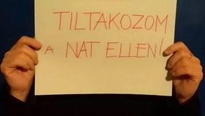 """""""Élőkép a NAT bevezetése ellen"""" - pénteken a Hősök terére vonul a Független Diákparlament"""