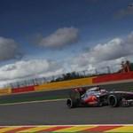 Button pole pozícióba varázsolta a McLarent Spában