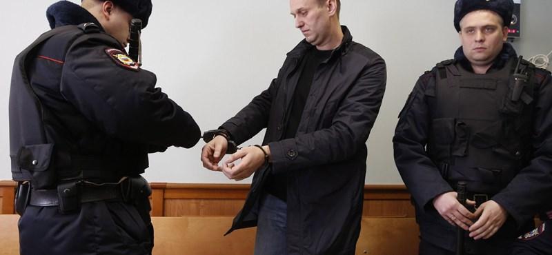 Jönnek a választások, Navalnij ismét rács mögött