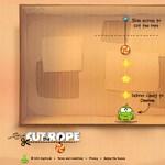 Itt a Cut the Rope HTML5 változata, ingyen