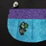 Akarjuk: kedves, kötött pénztárca a Super Mario figuráival
