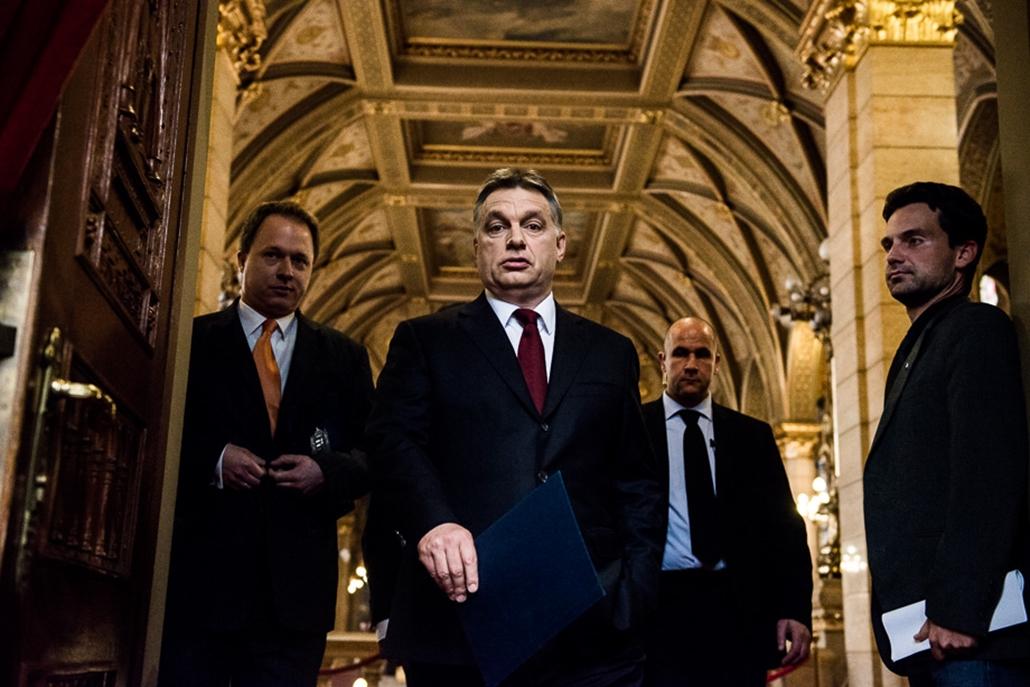 Orbán Viktor Sajtótájékoztató
