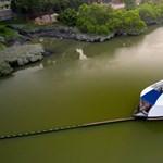 Ilyen hajó kellene a Dunára, Tiszára is: zabálja a szemetet, hogy tiszta legyen a víz