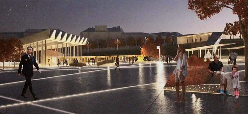 Kezdődik a Széll Kálmán tér felújítása, jövő februárra lehet kész