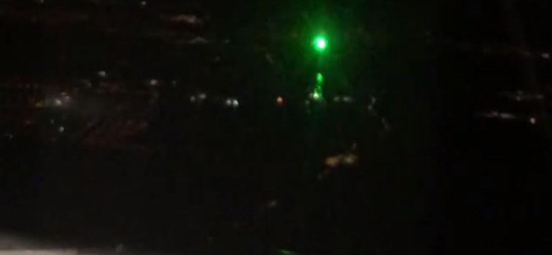 Lézerrel próbálták megzavarni egy Ferihegyre érkező utasszállító pilótáit – videó
