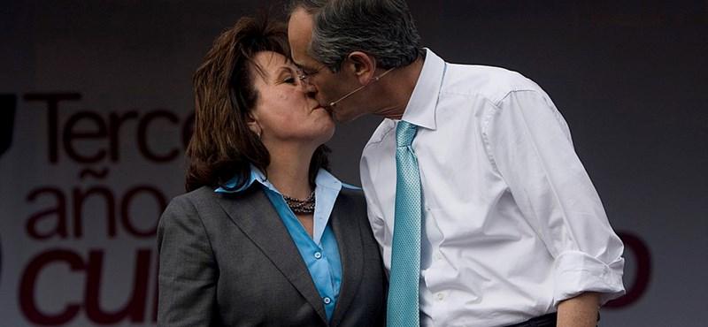 Válik a guatemalai elnökfeleség, hogy elnök lehessen