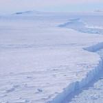 Három budapestnyi jéghegy szakad le az Antarktiszról
