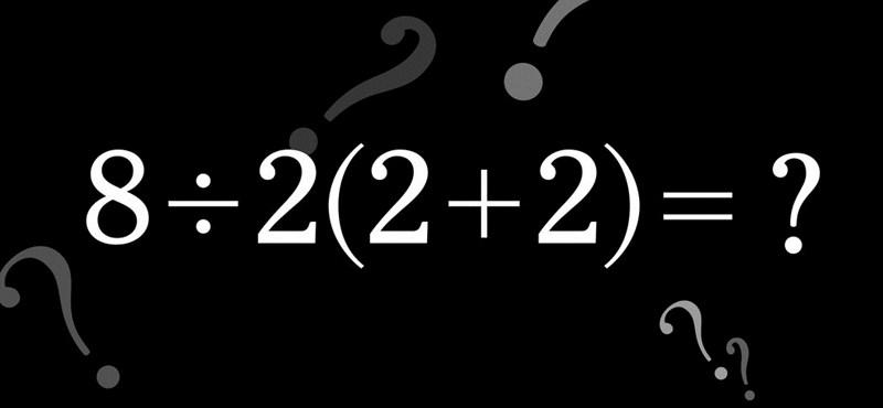 Felrobbant az internet egy matekfeladat miatt, ezrek próbálják megoldani