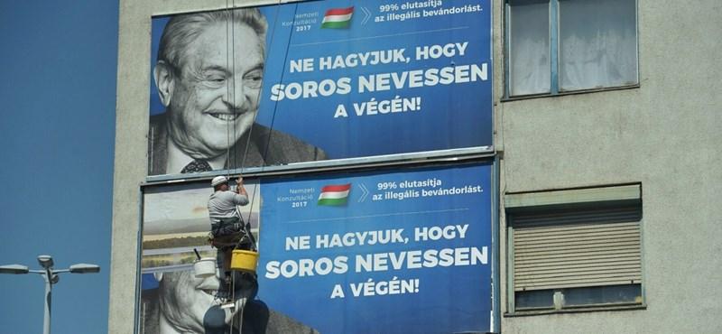 Elegáns, de megalázó választ kapott a kormány a Soros-plakátokra
