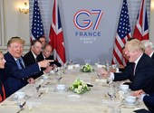Biarritz: Donald Trump ígért egy nagyot a brit kormányfőnek
