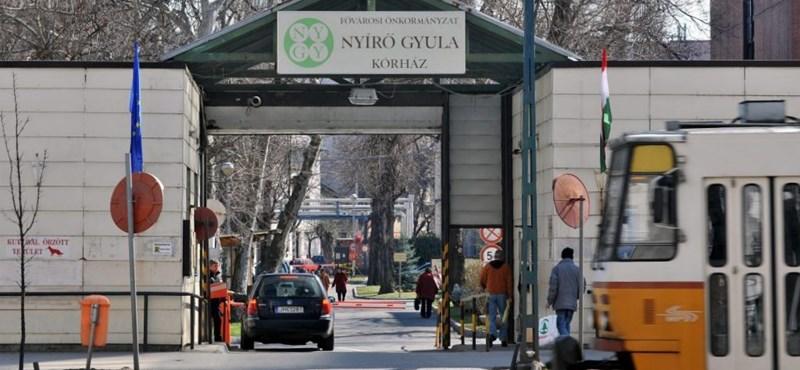 Két nap alatt kellett Covid-részleget berendezni a Nyírő Gyula kórházban