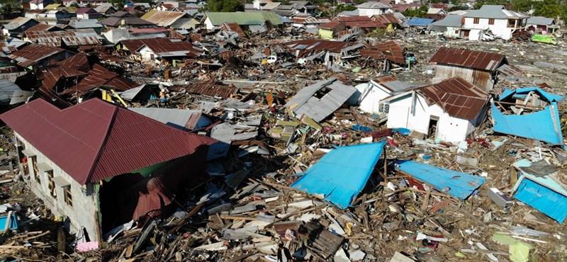 Újabb földrengés rázta meg az indonéziai Celebeszt
