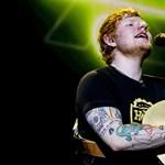 Hatalmasat kaszált idén Ed Sheeran