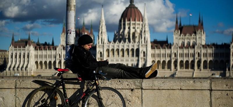 Megugrott a biciklisek száma Budapesten