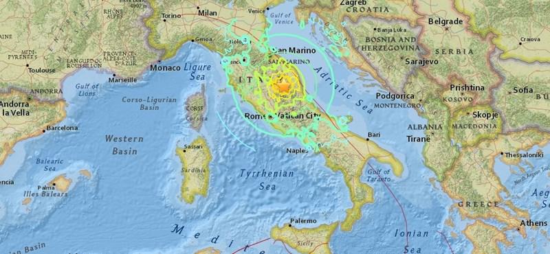 Összeomlott a Szent Benedek bazilika Olaszországban