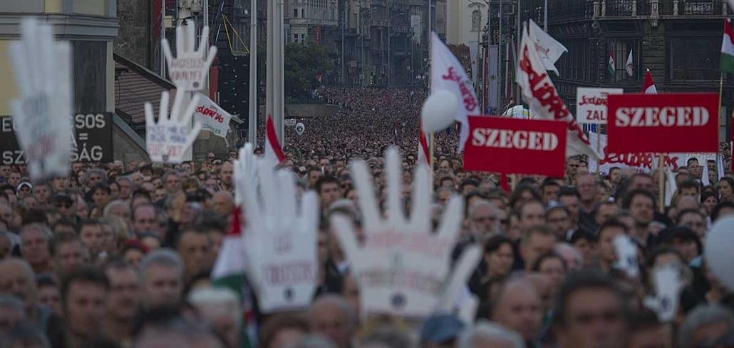 Milla, Egymillióan a magyar sajtószabadságért, Bajnai Gordon - 12okt23
