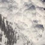 Ilyen az, amikor megindul a lavina egy svájci hegyoldalon – videó