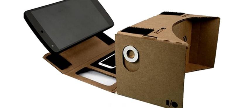 Pár ezer forintba kerül a Google új virtuális valóság eszköze