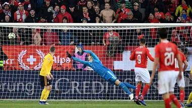Csúnyán megleckéztette Belgiumot a svájci válogatott