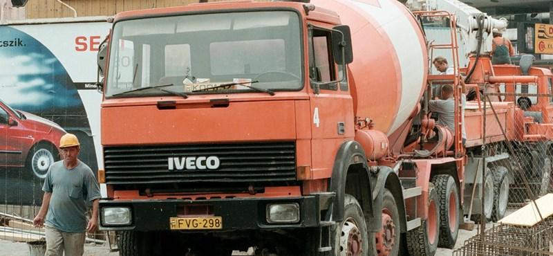Iveco: növekedésnek indult a teherautó piac