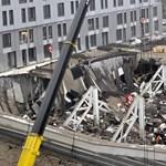 Nem lesz több túlélő - nehézgépekkel mennek neki a romoknak Rigában