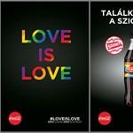 A Coca-Cola plakátkampányának meleg párja: Nem lehet elmenekülni