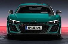 Zöld pokol: limitált szériás új Audi R8 érkezett
