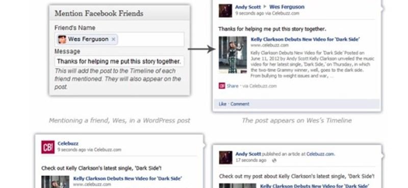 Végre összekapcsolódott a Facebook és a Wordpress