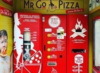 Kis utcai horror Rómában: itt a pizzaautomata