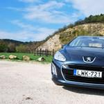 Peugeot 308 e-HDi teszt: van élet öt liter alatt