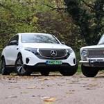 Villany-Zsiguli vs. elektromos Mercedes: szovjet-német párbajt rendeztünk