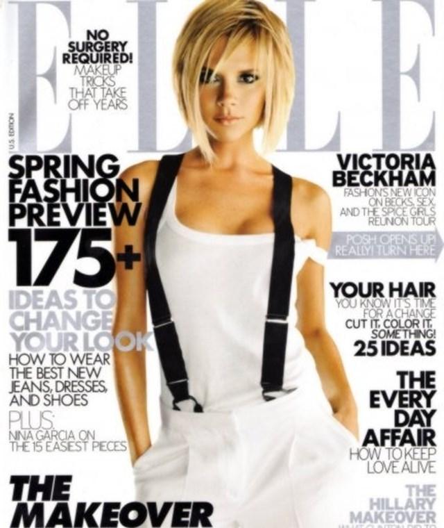 Victoria Beckham Elle hózentrógli