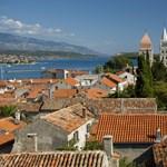 Evakuáltak egy turisták által kedvelt várost Horvátországban