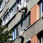 Kizuhant egy hatodik emeleti ablakból egy szerelő Kispesten