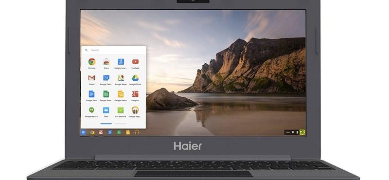 Nem vicc: 40 ezer forintos laptopokkal támad a Google