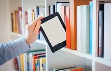 Jó az e-könyv, de mit rakunk a könyvespolcra 10 év múlva?