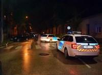 Letartóztatták a férfit, aki szándékosan elgázolt egy rendőrt Sopronban