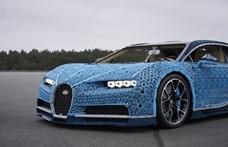 Mától Budapesten a Legóból készített 1:1 méretarányú, működőképes Bugatti